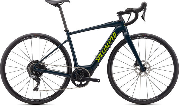 SPECIALIZED Turbo Creo SL Comp E5 S SATIN CAST BLUE / BLACK / HYPER  click to zoom image
