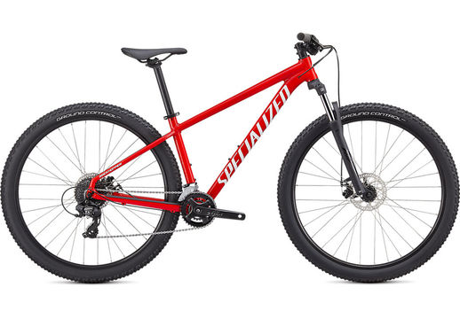 SPECIALIZED ROCKHOPPER 27.5 S GLOSS FLO RED / WHITE  click to zoom image