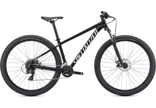 SPECIALIZED ROCKHOPPER 27.5 XS GLOSS TARMAC BLACK / WHITE  click to zoom image