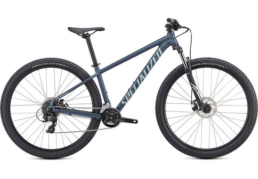 SPECIALIZED ROCKHOPPER 27.5 XS SATIN CAST BLUE METALLIC / ICE BLUE  click to zoom image