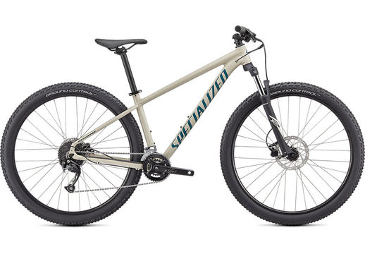 SPECIALIZED ROCKHOPPER SPORT 27.5 XS GLOSS WHITE MOUNTAINS / DUSTY TURQUOISE  click to zoom image