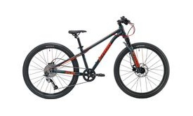 FROG MTB 62  Metallic Grey/Neon Red  click to zoom image