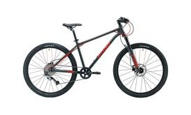 FROG MTB 72 Metallic Grey/Neon Red  click to zoom image