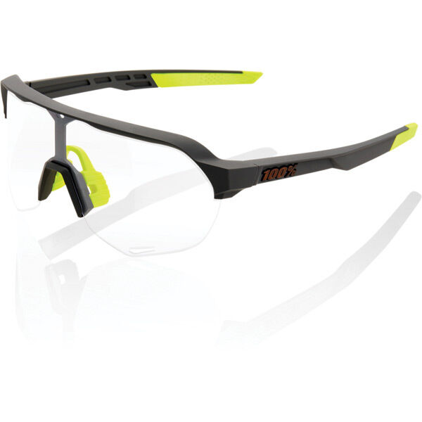 100% S2 - Soft Tact Cool Grey - Photochromic Lens click to zoom image