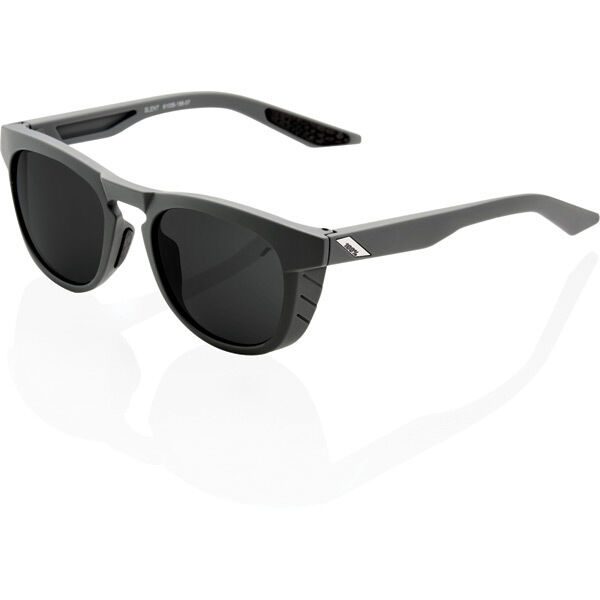 100% Slent - Soft Tact Cool Grey - Smoke Lens click to zoom image