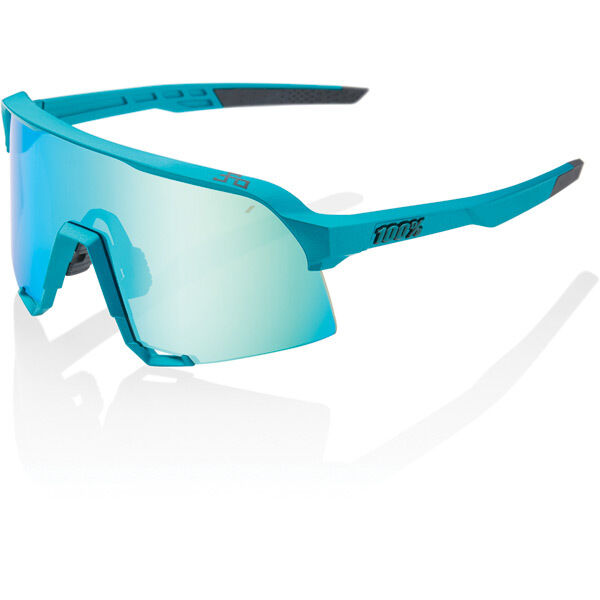 100% S3 - Peter Sagan LE Blue Topaz - Blue Topaz Multilayer Mirror Lens click to zoom image