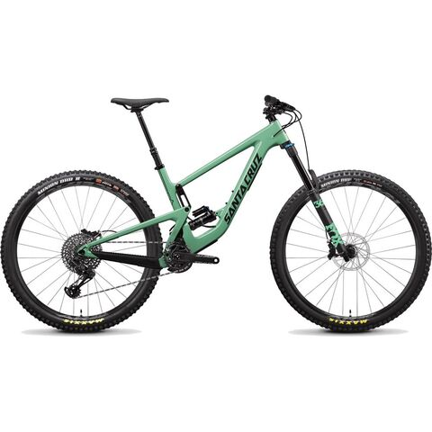 SANTA CRUZ BIKES Megatower C S Small FS Green  click to zoom image