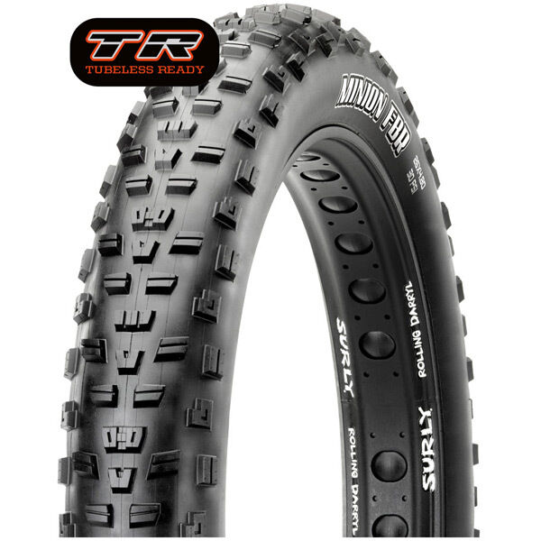 MAXXIS Minion FBR 26x4.00 120TPI Folding Dual Compound EXO / TR click to zoom image