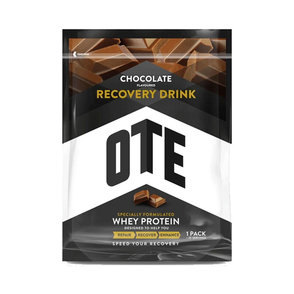 OTE Whey Protein Recovery Drink 1kg Chocolate click to zoom image