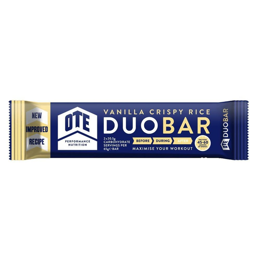 OTE Duo Bar Vanilla 65g click to zoom image
